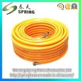 適用範囲が広いPVCスプレーの編みこみのホース、PVC螺線形のホース、PVC吸引のホース