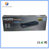 4k ayuda 3D de 16 puertos HDMI caja de distribución con buena calidad