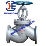 Válvula de globo del agua del borde del acero de molde del estruendo/del acero inoxidable