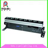 luz sin hilos de la arandela de la pared de la batería LED de 8LEDs 8W