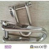 삭구 기계설비 스테인리스 바다 이음쇠를 위한 304/316의 꼬이는 수갑