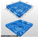 Op zwaar werk berekende Enige HDPE van de Oppervlakte van het Netwerk van het Gezicht Dubbele Zij Plastic Pallet