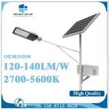 8m Hot-DIP電流を通されたポーランド人60Wの高い内腔屋外LEDの太陽街灯