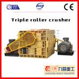 Máquina minera de la trituradora de piedra para el motor de CA con la trituradora de rodillo triple