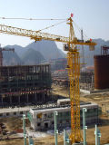 4810) B ventes Grue-Chaudes de tour de Topkit de construction de Qtz50 (