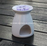 カスタマイズされた白い陶磁器オイル鋭いバーナー(CB-01)
