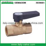 Válvula de esfera de gás de latão de design novo / válvula pneumática (AV-BV-2031)