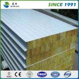 El panel de emparedado de alta resistencia de las lanas de roca de pared