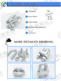 Meallable un type clips de câble métallique