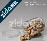 Пластичные ясные пустые чонсервные банкы еды для упаковки законсервированной еды