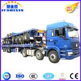 40FT de Semi Flatbed Aanhangwagen van de container, de Hoge Aanhangwagen van de Vrachtwagen van het Bed