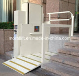Elevación accesible lisiada hidráulica de la escalera del hogar de la elevación de sillón de ruedas