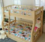 Cama de cucheta de madera sólida de los niños de las camas de cucheta del sitio de la cama (M-X2204)