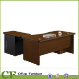 Escritório Desk com Side Table Cabinet
