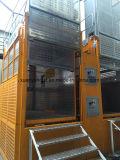Alzamiento del edificio de la construcción de los materiales y de los pasajeros del inversor de la frecuencia de 2 toneladas