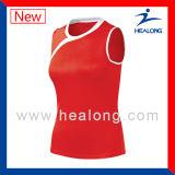Todos os tipos do uniforme Sublimated personalizado do voleibol com alta qualidade