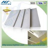 Placa da parede de divisória da placa do cimento da fibra do material 9mm da decoração