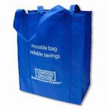 Sac non tissé de tissu, sac réutilisable (LJ-139)