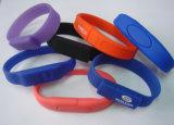 De Aandrijving van de Flits van de armband USB met Diverse Kleuren