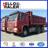 Caminhão de descarga do pneumático do fio de aço da mineração HOWO/30 toneladas