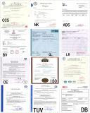 Materiais de consumo aprovados da soldadura do fio de soldadura Er70s-6 do CE