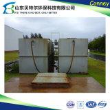 a planta do tratamento da água do desperdício da água de esgoto 300tpd doméstica, remove o bacalhau, BOD