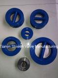 Тип двойной задерживающий клапан Pn16 вафли плиты