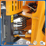 Carregador da roda do carregador chinês da exploração agrícola mini com forquilha da pálete