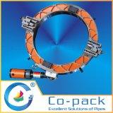 Acero inoxidable de corte de tubos tubo y máquina Biselado