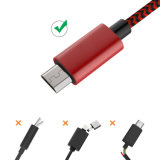 2.4A micro USB Kable do USB Ladekabel para Smartphones Android