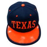 Gorra de béisbol caliente del Snapback de la venta con PU brillante Gjfp17191 máximo