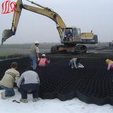 Cor preta Geocell para a construção de estradas