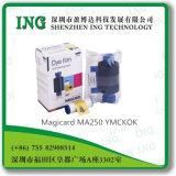 Magicard Ma250 Ymcko, cinta de la impresora de la tarjeta