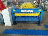 Galvanisierte Stahldach-Rolle, die Maschine mit hydraulischem Ausschnitt bildet