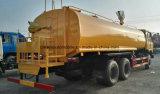 De Tankwagen van het Vervoer van het Water van Dongfeng 6X4 de Vrachtwagen van de Sproeier van 20000 L