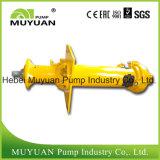 Pompe submersible électrique verticale à manipulation de boues à une étape