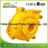 Pompe centrifuge de boue de la distribution de limette d'alimentation d'hydrocyclone