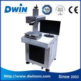 machine d'inscription de laser de fibre en métal de 10W 20W pour le PVC de Plastis de boucle