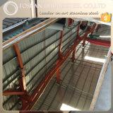 L'acier inoxydable de 304 miroirs couvre le prix usine de bonne qualité