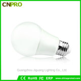 алюминий освещения 5W E14 E26 E27 B22 с пластичным светильником шарика СИД