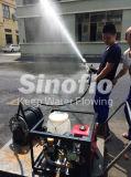 bomba de água de escorvamento automático do incêndio do vácuo portátil do motor 11HP Diesel