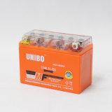 Batterie exempte d'entretien scellée de moto de Mf 12n6.5L-BS 12V7ah de haute performance de gel