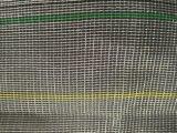 Rete verde oliva di colore dell'anti rete nera della grandine per agricoltura