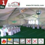 Barraca do casamento com a barraca transparente do banquete de casamento da recreação da restauração do hotel de 300 convidados