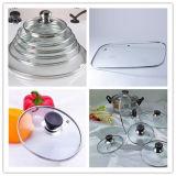 Cubierta de cristal de la tapa de los utensilios de cocina calientes del producto que hace la línea máquinas