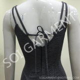 Reizvolles Form Bodycon Kurzschluss-Rückseiten-Partei-Kleid für Damen (DR-56)