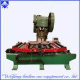 Máquina multi del sacador de orificio de las dimensiones de una variable del metal con la plataforma que introduce