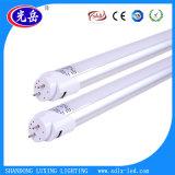 Lumière en aluminium de tube en verre 18W T8 DEL Tube/LED avec la meilleure chaleur Dissiption