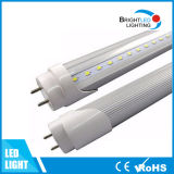 높은 Lumen Price Milky 또는 Clear Cover LED Tube Light T8 4FT 1200mm 18W Tubes