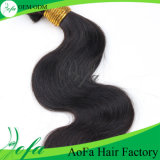 7A Grade Unprocessed Virgin brasilianisches Natural Black Loose Wave Hair
